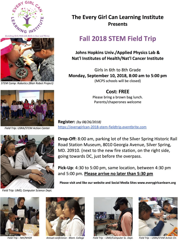 Savvy STEM Girl Mini Summer Camp Robotics and More