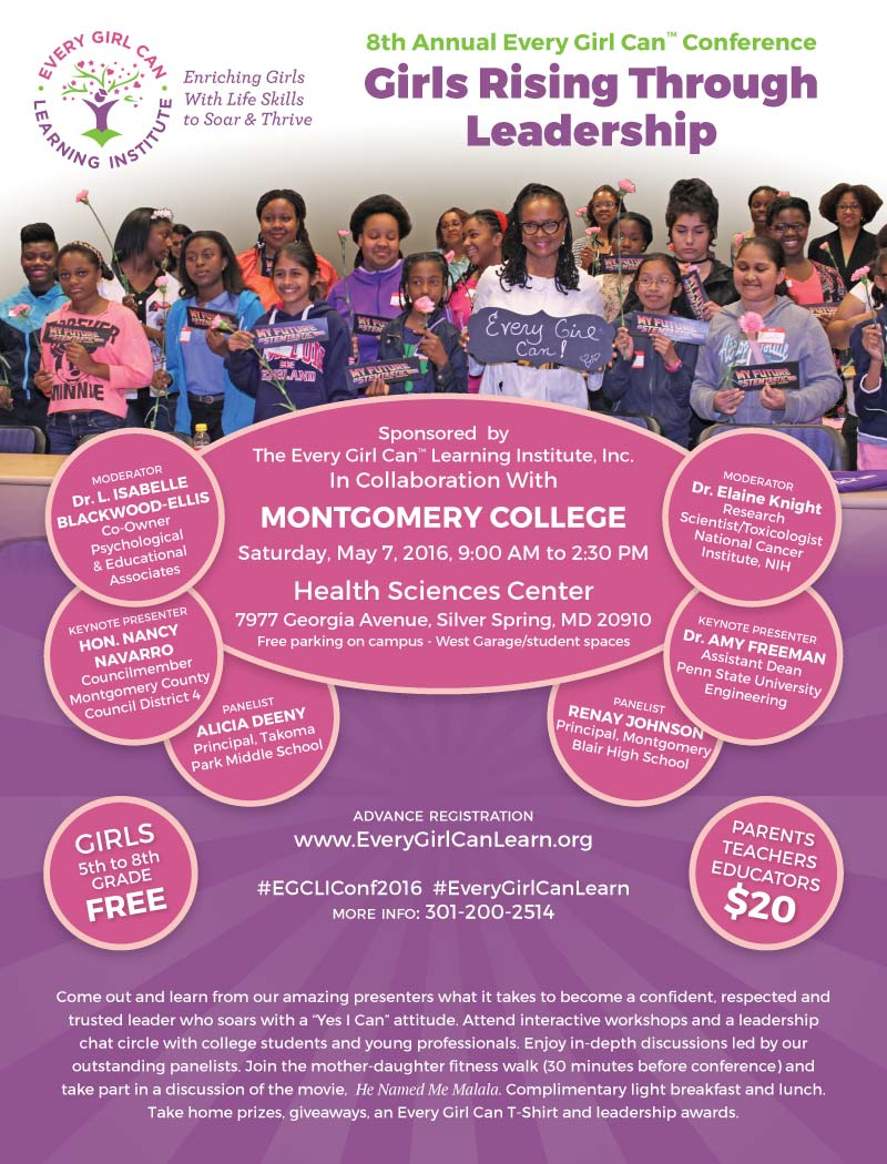 The 8th Annual Every Girl Can™ Conference